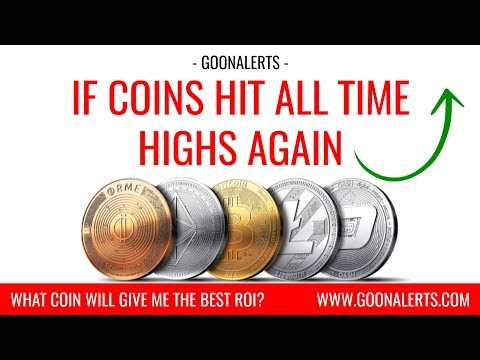 If coins hit all time highs again | Top 12 Coins ROI