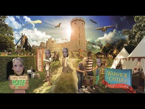 Warwick Castle Day Trip Review Vlog