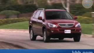 2008 Lexus RX 400h Review - Kelley Blue Book