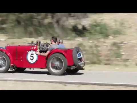 Mil Millas de Autos Sport Antiguos 2016, paso por Nogoli San Luis