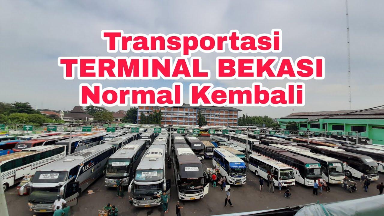 Transportasi Terminal bekasi timur Normal kembali