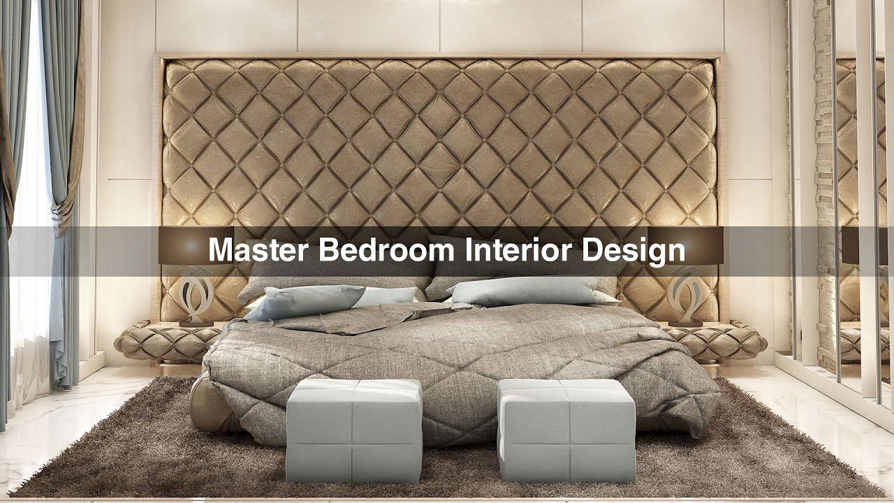 Schlafzimmer Design Youtube: Luxury Master Bedroom Interior Design