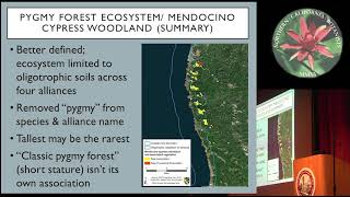 Using vegetation classification and mapping to demystify and protect the Pygmy Forest Ecosystem.