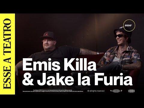"Emis Killa & Jake La Furia raccontano ""17"" ad Antonio Dikele Distefano in teatro | ESSE MAGAZINE"