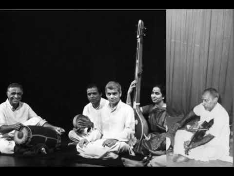 KV Narayanaswamy - Music Academy, 1973