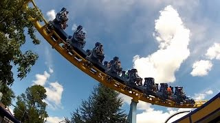hersheypark skyrush complete ride experience re imagined pov hd 1080p roller coaster gopro intamin