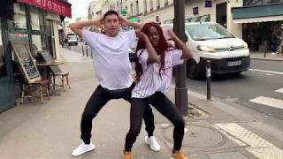 Burna Boy - On The Low Dance couple @badgyal & @lucacilluffo