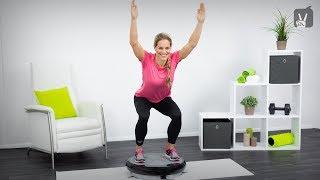 Vibrationsplatten Training: Workout für schlanke Beine und straffen Po