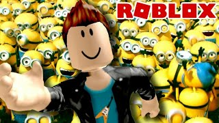 Pega pega do Minion no Roblox