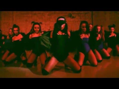 INDIRA Choreo   Ape Drums  feat  Vybz Kartel   Worl' Boss