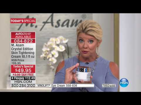 HSN | M. Asam Beauty / Temptu Airbrush Makeup 06.06.2017 – 02 PM