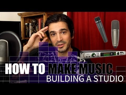 How to make MUSIC! Step 1? Build a studio, then record a song.
