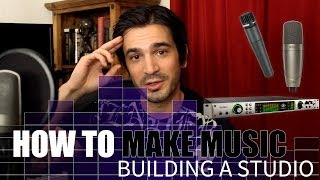 Wie MUSIK zu machen! Schritt 1? Bauen Sie ein studio, dann ein Lied aufnehmen.