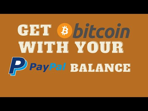 How To Buy Bitcoin With Your PayPal Balance - New PayPal Features