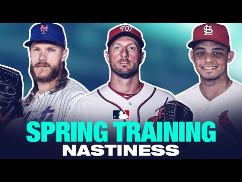 Pitchers throwing filth at Spring Training