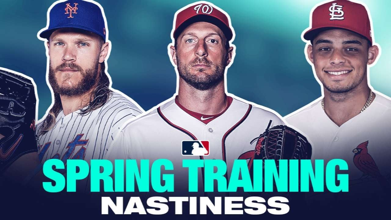 a63ed375184447 Pitchers throwing filth at Spring Training - YouTube
