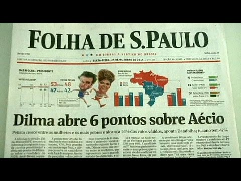 Brazil elections: Rousseff takes the lead in latest polls