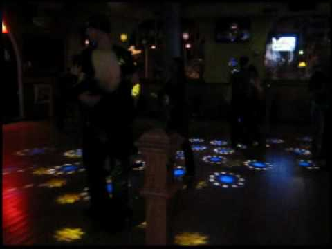 Clark and Denise Miller dancing at Mangos