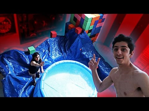 INDOOR SWIMMING POOL!! (MOM FREAKS OUT) | FaZe Rug