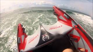 Ceasar Thundercat Inflatable wave jumping GoPro 1080