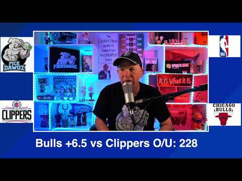 Chicago Bulls vs Los Angeles Clippers 2/12/21 Free NBA Pick and Prediction NBA Betting Tips