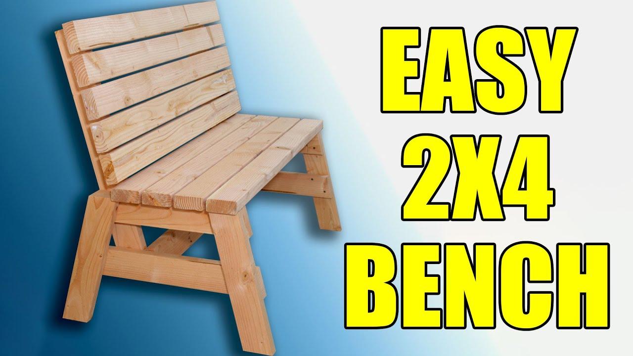 2X4 Bench Seat Plans