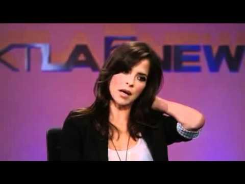 Kelly Monaco 9/19/11 KTLA Interview