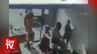 Police detain local man for indecent behaviour