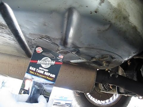 Car Fuel Tank Leak Repair