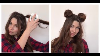 HOLIDAY HAIRSTYLES 2021 Причёска на корпоратив Причёска микки маус Причёска на новый год