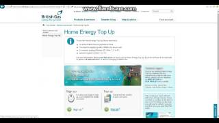 British gas Home top up Windows 10