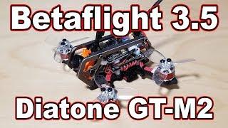 Betaflight 3.5 PIDs // Diatone GT-M2 🎓