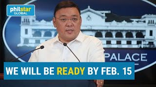 Palace: Philippines to roll out first batch of COVID vaccines mid-February