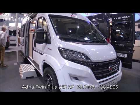 Adria Twin Plus 540 SP 2019 camper van