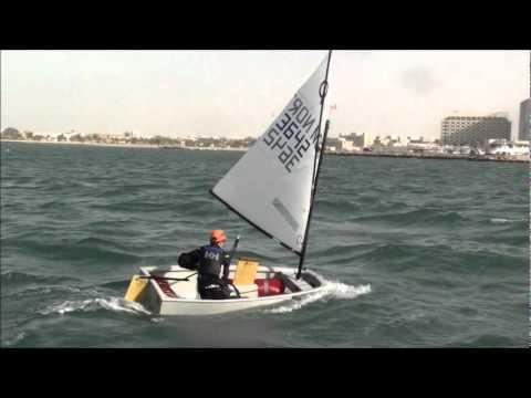 Norwegian Opti Sailing Extreme in Doha 2012