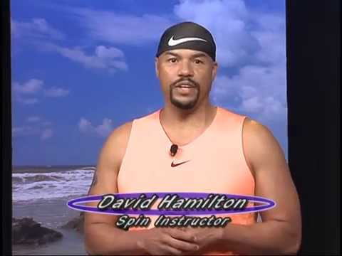 Let's Get It Started TV show on CTV guest host David Hamilton .Power Abs