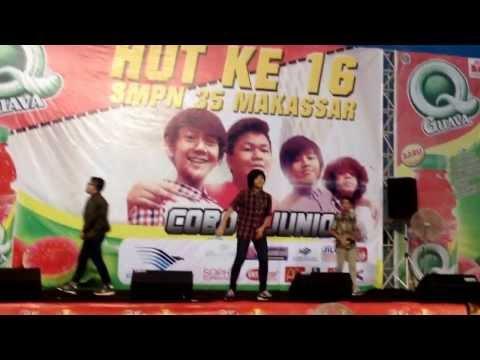 Coboy Junior-Fight di HUT SMPN 35 Makassar