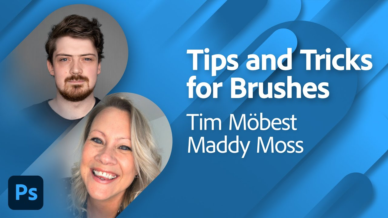 Brush Basics with Tim Möbest and Maddy Moss   Adobe Live