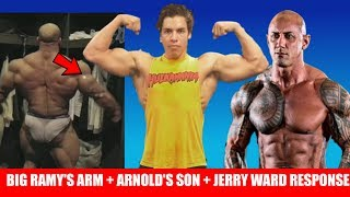Arnold's Son Posing Video, Big Ramy's Arm, Response to Jerry Ward/ Super League