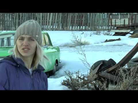 Спасли поросёнка а потом на тракторе по деревне с девочками. )))