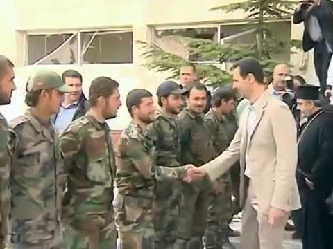 Syria - Assad Protects Christians from Obama & Saudi FSA Terrorist Hordes - Maaloula Visit