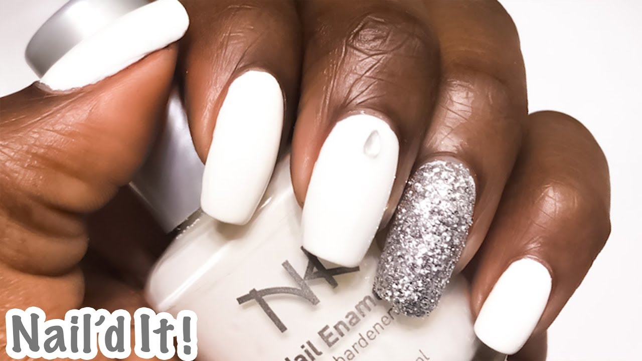 NAIL\'d it!! REALLY WHITE Manicure | Nicka K Cosmetics | Natural ...