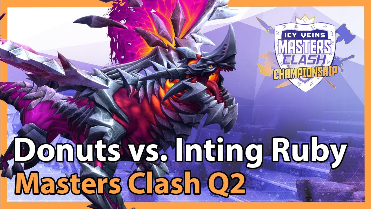 Donuts vs. Inting for Ruby - Masters Clash - Heroes of the Storm