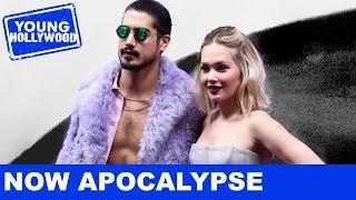 Crashing the Set of Starz's Now Apocalypse with Avan Jogia & More!