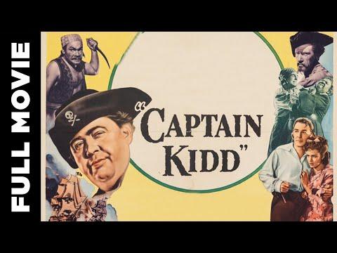 Captain Kidd (1945) | Full Movie | Charles Laughton, Randolph Scott | English Adventure Film