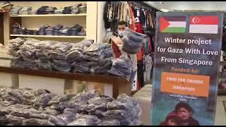 Winter Jackets for Kids - Gaza Jan 2021