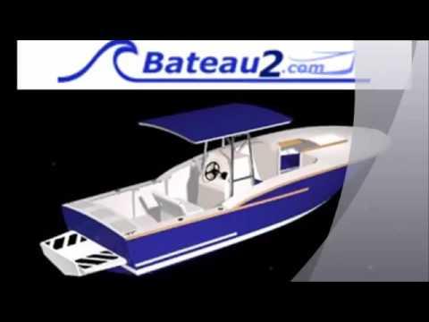 Homemade center console boat