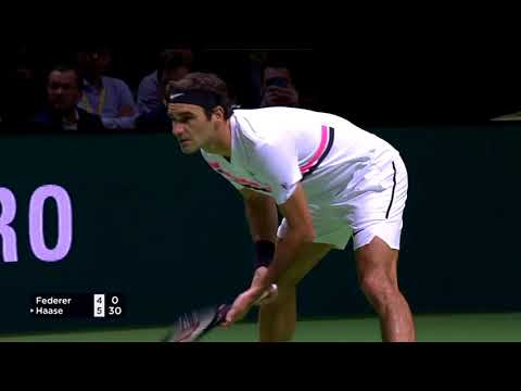 Roger Federer vs Robin Haase - QF Rotterdam 2018 Highlights