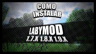 COMO INSTALAR E USAR LABYMOD + COMO CONFIGURAR O OPTIFINE !!!