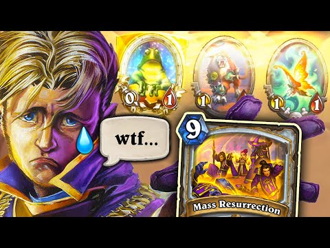 Giving TERRIBLE MINIONS to RESURRECT PRIESTS | Anti Priest Shaman | Descent of Dragons | Hearthstone
